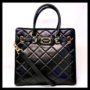 Michael Kors Hamilton Large Quilted Leather Tote